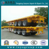 High Quality 3 Axles Flatbed Semi Trailer