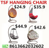 Cheap Kids Outdoor Patio Wicker Rattan Egg Swing Hanging Chair