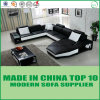 Hot Sale European Genuine Leather Fashion Living Room Sofa
