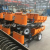 Small 3/4 Wheels Tipper, Electric Cargo Dumptruck with Hydraulic Lifting System