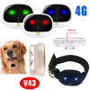 4G Network IP67 Waterproof Pet GPS Tracker with Multiple Accurate Positioning V43