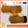 Yellow Cowhide Split Welding Safety Working Gloves