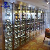 Custom Made Stainless Steel Wine Cabinet for Bar Wine Rack