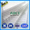 100% Prime Bayer Makrolon Polycarbonate Hollow Wall Roofing Sheet