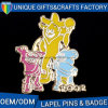 Factory Sale Custom Metal Badge Pin with safety Pin