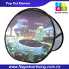 Outdoor or Indoor Advertising a Frame Pop out Banners
