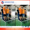 Roadshow Promotion Aluminum Assembled Even Plywood Stage for Sale