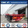 Cimc Huajun High Quality 40FT Tipping Semi-Trailer