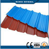 Color Coated Galvanized Corrugated Steel Roofing Sheet 22 Guage
