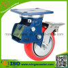 Industrial Double Brake Shock Absorption Caster