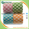 Checkered Printing Cohesive Flexible Bandage