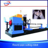 Support CNC Plasma Cutting Machine Round Pipe Large Hellow Tube Cutting Machine