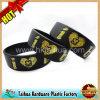 Fashion 1 Inch Silicon Wristbands Bracelet (TH-6921)