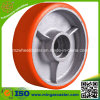Pallet Truck Roller Bearing PU Trolley Wheel