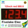 Outdoor LED Sign Board for Gas Station Pylon (12in)