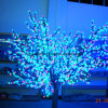 Beautiful Outdoor Hotel LED Cherry Tree LED Artificial Christmas Trees
