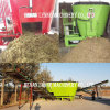 Best Price Dairy Mobile Tmr Silage Feed Maker with Mixing Crushing Device