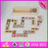 2017 Wholesale Baby Wooden Mini Domino Set, Funny Kids Wooden Mini Domino Set, Best Wooden Mini Domino Set W15A073