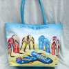 Eco Friendly Polyester Beach Towel Tote Bag