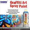 Spray Paint for Artist Venture, Excellent Coverage in One Pass, No Running Down, European Female Valve