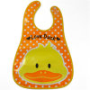 2016 China Supplier Coustom PEVA Baby Bib with Pocket (MECO125)