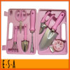 2015 Lovely Pink 8PCS Multifunction Garden Hand Tool Set, Multifunction Garden Hand Tool Set with Case Home Use Gift T37b002