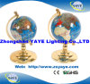Yaye Green Colour Gemstone Globe / World Globe with Globe Size: 150mm