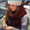High Quality Plain Fashion Women Cashmere Shawl Scarf