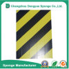 Yellow-Black Fireproof Reflective Warning Guard Rubber Foam