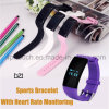 Wristband Bluetooth Smart Silicone Bracelet with Fitness Tracker D21
