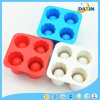 4-Cup Food Grade Silicone Ice Cube Tray