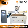 1300X2500mm, Genuine Nc Studio, Hsd/ Hqd Spindle, Nk 105 Handle, Vacuum Table, Pim Screw & Guild Rail, Multi Workstage CNC Router
