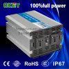 Opim-3000-1 12V DC to AC 110V Single Output Modified Sine Wave 3000W Power Inverter