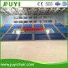 New Telescopic Grandstand Retractable Bleacher with Folding Chair Jy-720