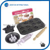 12PCS Home Cake Mold Set for Kids