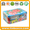 Food Packaging Pip Studio Colorful Large Rectangular Tea Tin Box