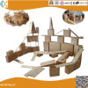 Carbonized Wood Large Size Outdoor Children Building Blocks