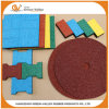 Outdoor Rubber Tiles Rubber Pavers for Walkway Park Yard Floor
