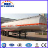 3 Axles 50ton Capacity Fuel Tanker Semi Trailer with Leaf Spring