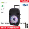 F22L PA System Outdoors Party Colourful Rechargeable Powerful DJ Stage Bluetooth Trolley Speaker