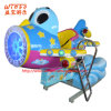 Glass Fibre Coin Operated Amusement Swing Kiddie Rides up&Down Plane for Children Playground (K160)