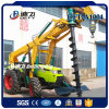 Tractor Mounted Drilling Machine for Erection Pole in Kenya