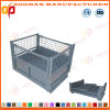 Foldable Galvanized Wire Mesh Container (ZHtb22)