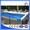 Powder Coating Swimming Pool Fence with White or Black Color