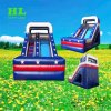 Hot Sale Customized Fantastic Stars Theme Inflatable Dry Slide for Children to Make a Great Fun of Playing