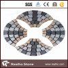 Cheap Price Black/Yellow/Grey/Red Granite Interlocking Cobble Stone for Project