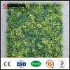 Wall Decoration UV Protected Yellow Artificial Leaves Plant Fence