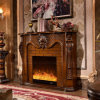 Hotel Furniture Antique LED Electric Fireplace (319B)