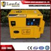 7kVA 7kw Air-Cooled Silent Type 100% Copper Wire Gasoline Petrol Generator