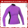 High Quality Long Sleeve Rash Guard for Women (ELTRGI-42)